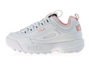 Fila Disruptor 2 white pink бело-розовые (35-39)