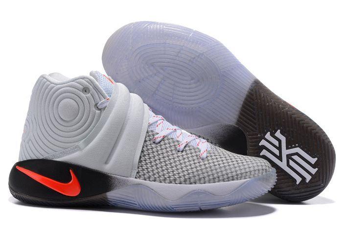 Nike Kyrie Hybrid grey/red/white серые (40-45)
