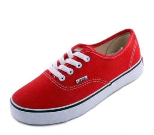 Кеды Vans Ванс red красные (36-41)