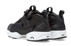 Reebok insta Pump White/ Black черно-белые (35-44)