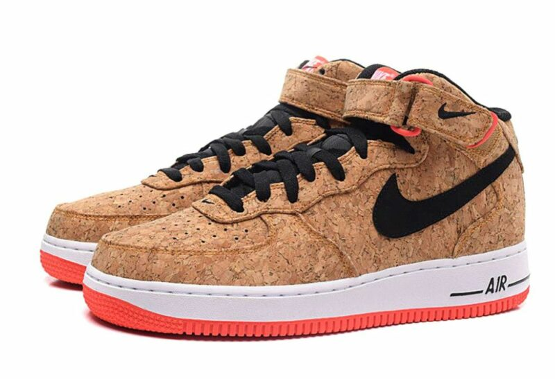 Nike Air Force 1 пробковые (35-40)