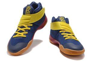 Nike Kyrie 2 blue yellow синие с желтым (40-45)