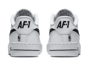 Nike Air Force 1 LV8 NBA бело-черные (40-45)