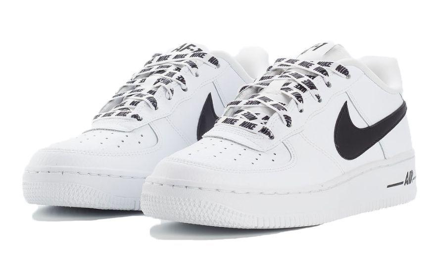 a0075386 Nike Air Force 1 LV8 NBA бело-черные (40-45) — купить в Москве ...