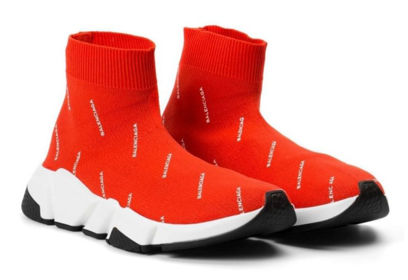 Balenciaga Speed Trainer red красные (35-39)