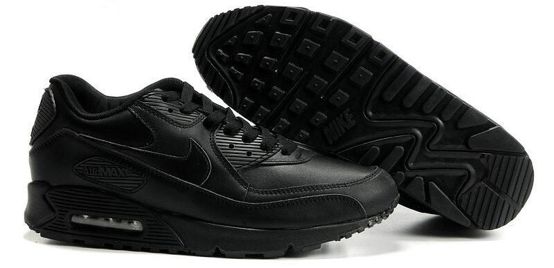 Nike Air Max 90 черные (35-46)