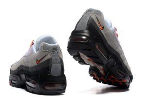 Nike Air Max 95 белые с красным и черным (41-45)
