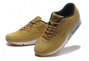 Nike Air Max 90 VT песочные замшевые (36-46)