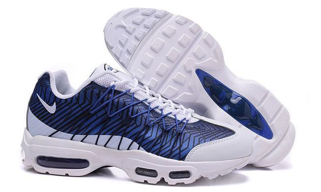 Nike Air Max 95 Ultra Jacquard Royal белые с синим (41-45)