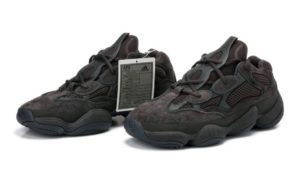 Adidas Yeezy Boost 500 black черные (35-44)