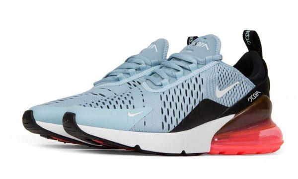 Nike Air Max 270 голубые (35-40)
