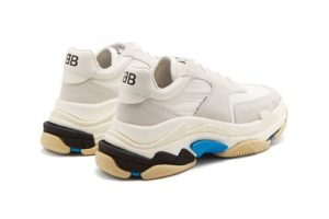 Balenciaga Triple S 2.0 бело-синие женские мужские (35-45)