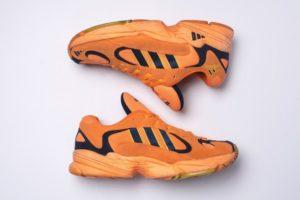 Кроссовки Аdidas Originals Yung-1 оранжевые (35-44)