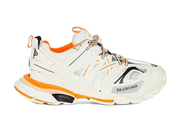 Оранжевые кроссовки Balenciaga