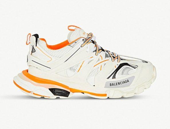 Кожаные мужские кроссовки Balenciaga