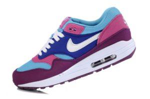 Nike Air Max 87 фиолетовые с голубым (35-40)