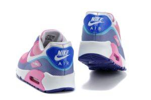 Nike Air Max 90 Hyperfuse бело-розовые (35-40)