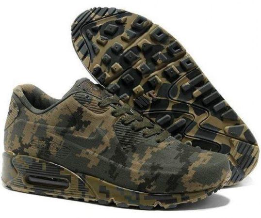 Камуфляжные мужские кроссовки