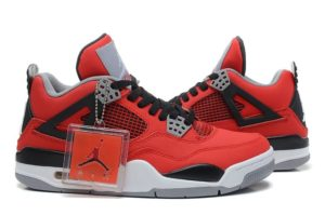 Nike Air Jordan 4 Retro Red красные 35-45