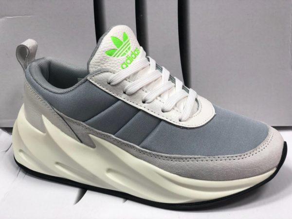 Кожаные мужские кроссовки Adidas