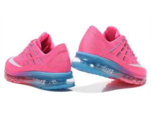 Nike Air Max 2016 розовые с голубым (35-40)