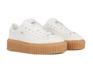 Puma Rihanna Creepers белые (35-40)