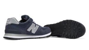 New Balance 574 темно-синие мужские (36-45)