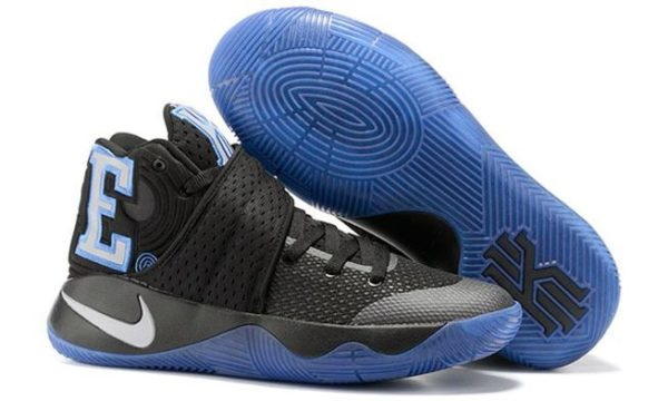 Nike Kyrie 2 Blue Black черные с синим (40-45)