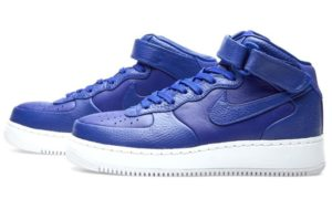 Nike Air Force 1 Lab mid синие (35-40)