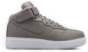 Nike Air Force 1 Lab mid серые (35-44)