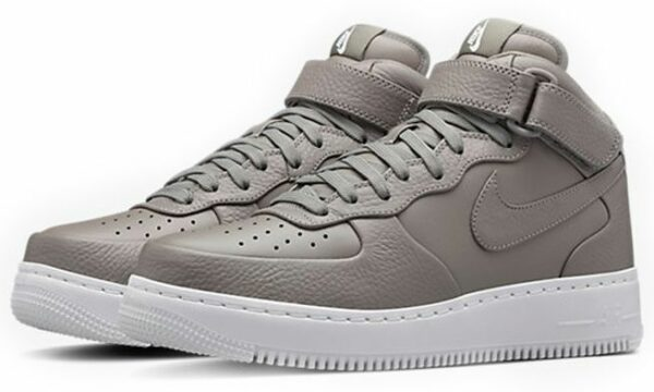 Nike Air Force 1 Lab mid серые (35-44)