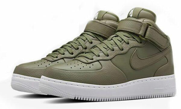 Nike Air Force 1 Lab mid зеленые (35-44)