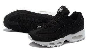 Nike Air Max 95 x Stussy черно-белые (40-45)