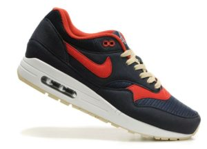 Nike Air Max 87 чёрный с красным 35-40