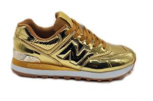 NEW BALANCE 574 золотые gold (36-40)