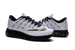Nike Air Max 2016 белые с черным (40-45)