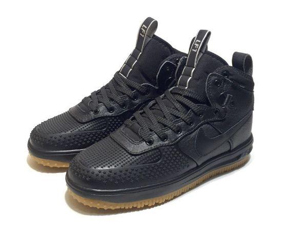Nike Air Force 1 Lunar Duckboot черные (40-44)