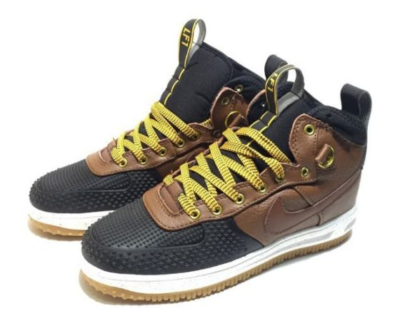 Nike Air Force 1 Lunar Duckboot коричневые (40-44)