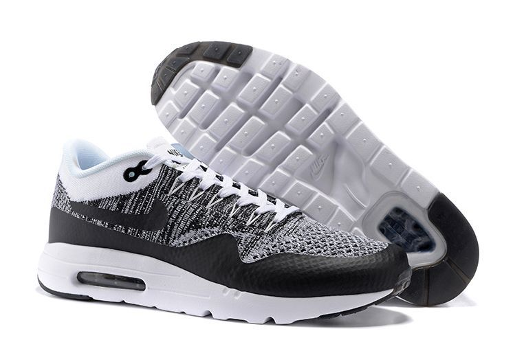 Nike Air Max 87 Ultra Flyknit Черно-серые 40-44