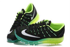 Nike Air Max 2016 черно-зеленые (40-45)