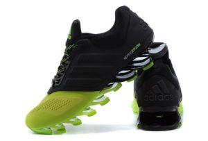 Adidas Springblade зелено-черные