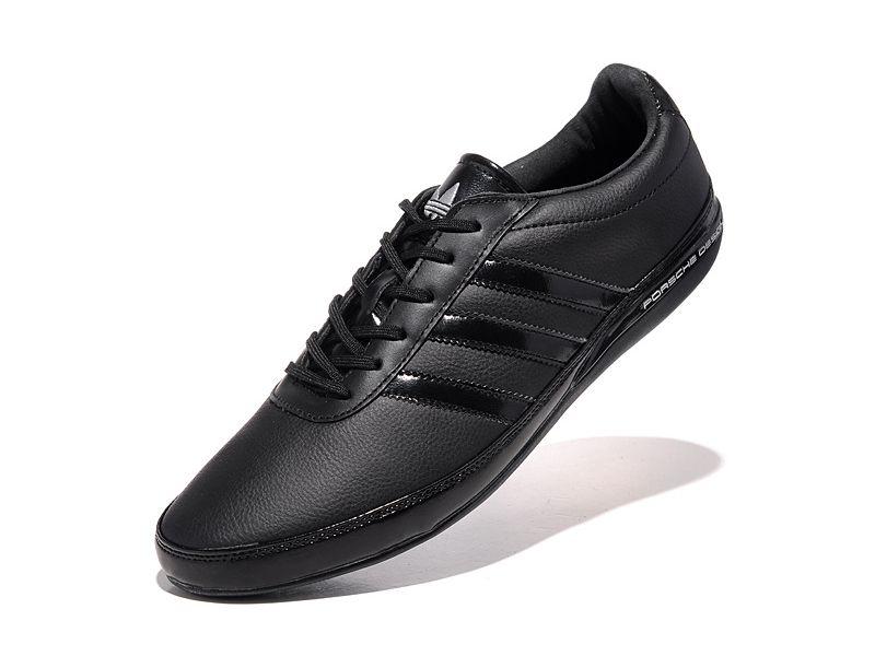 458fe03b Adidas Porsche Design S3 leather black черные (40-45). Адидас порше дизайн  ...
