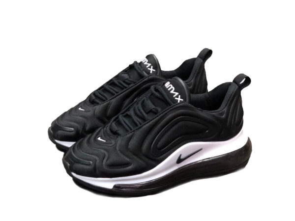 Nike Air Max 720 Black/White черно-белые (35-44)