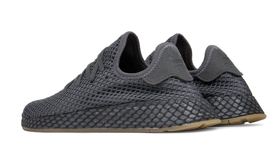 12f806ef Adidas Deerupt Runner черные (40-44) — купить в Москве. Дисконт ...