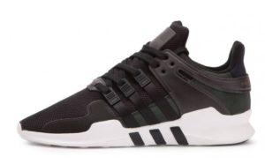 Adidas EQT Support ADV черные с белым (40-44)