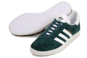 Adidas Gazelle зеленые с белым (40-44)