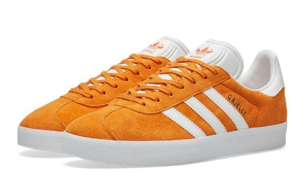 Adidas Gazelle оранжевые с белым (35-39)