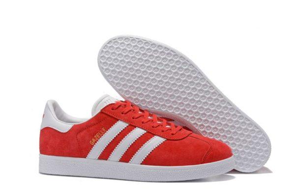 Adidas Gazelle красные (35-44)