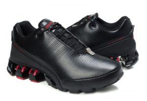 Adidas Porsche Design P'5000 leather черные с красным (39-45)