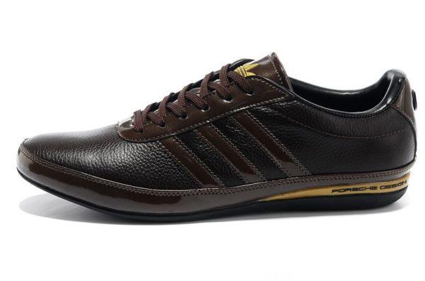 Коричневые мужские кроссовки